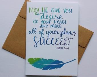 Birthday Card - Christian Greeting Card - 5x7