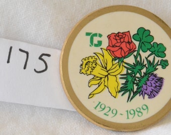 Townswomens's Guild 60th Anniversary Badge