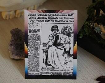 Emma Goldman Sticker