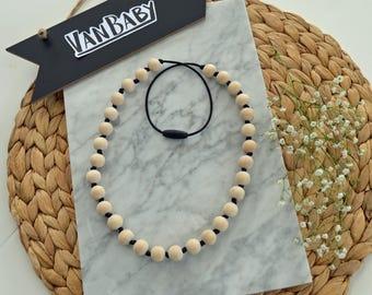 Wood Teething Necklace