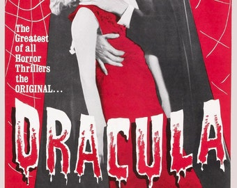 Dracula Bela Lugosi 1931 Vintage Horror Movie Film Poster Print Picture A3 A4