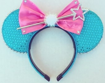 Fairy Godmother Mouse Ears - Fairy Mouse Ears - Miracle Mouse Ears