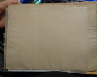 "1 sheet of genuine 18th century blank paper - no watermark - 11x9"" (30x23 cm)"