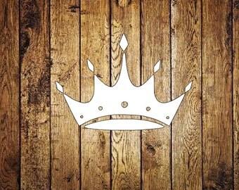 Zeta Tau Alpha Crown Decal