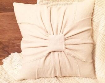 Drop Cloth Farmhouse Pillow