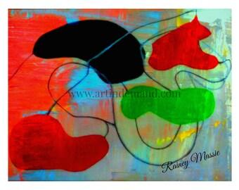 Closed Eyes - 11x14 reprint