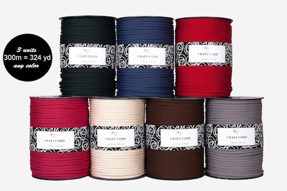 324 yards/300m Macrame cord crochet cord, crochet rope ...
