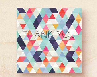Thank you printed cards – variety of designs
