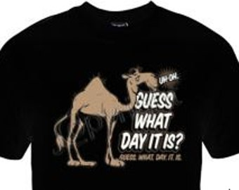 Hump Day T-Shirt, Funny Tee, Camel T-Shirt