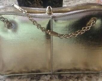 Lovely Gold Evening Bag