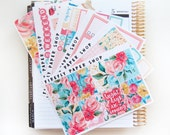 Bright Days Weekly Kit (stickers for Erin Condren Life Planner - Vertical)