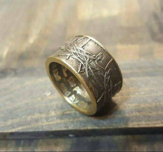 Crown of Thorns Men's Ring