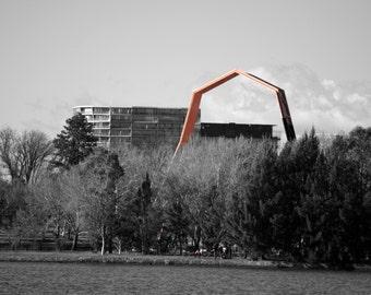 Orange Arch, Australian National Museum, TASMANIAN PHOTOGRAPHY
