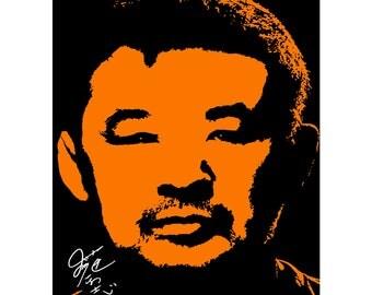 Kazushi Sakuraba pre signed photo print poster - 12x8 inches (30cm x 20cm) - Superb quality