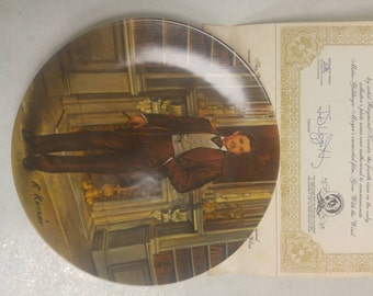 "Gone with the Wind, ""Rhett"" Knowles Fourth Issue Collectors Plate"
