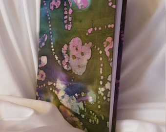 Green/Purple Batik Journal