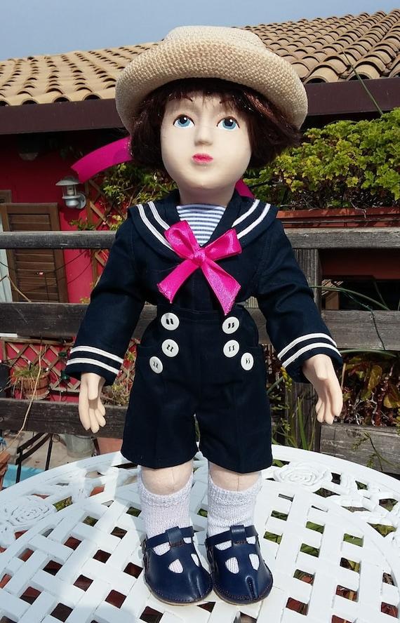 Zisa Doll Boy in Sailor suit