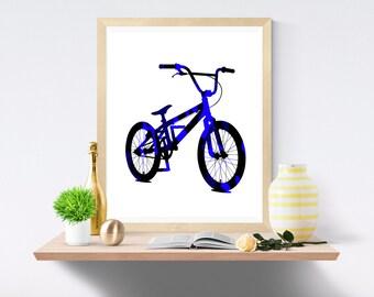 bmx, bmx print, bmx art, Camo Print, bmx poster, Bike Poster, Bike Print, Camouflage Print, bmx wall art, Bike Wall Decor, Camouflage Poster