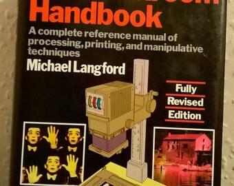 The Dark Room Handbook Vintage hardcover book by Michael Langford