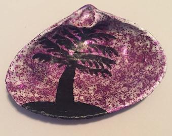 Purple Palm Tree Shell