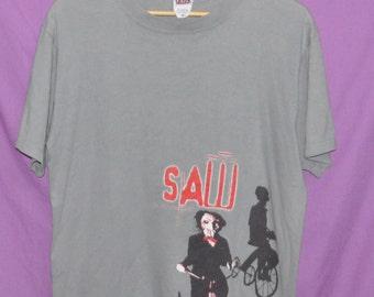 Vintage SAW Horror Thriller Cult Movie Film T-Shirt