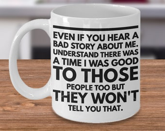 Funny coffee mugs for office ~ cheap gifts ideas for men/women/her/him/colleague/boss with quote - White 11 ounce tea cup