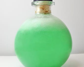 Cold & Sinus Relief Bubble Bath / A Minty Potion! / Gluten Free / Made with Organic Menthol Crystals!