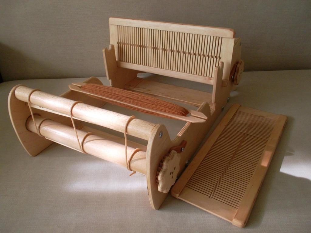 Telaio per tessitura da 12 2reed 3shuttles telaio per tessitura telaio tavolo cricket - Telaio da tavolo per tessitura a mano ...