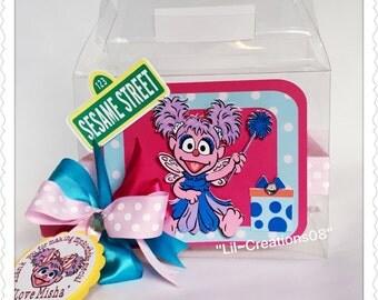 6 Abby Cadabby Inspired Treats Box,