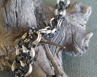 Wire Wrapped Bracelet - Firefly
