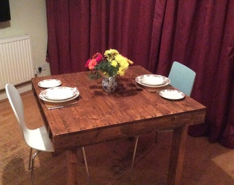 Handmade Pallet Wood Dining Table Reclaimed