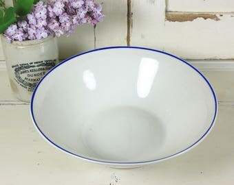 Lovely French Blue and White Bowl