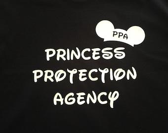 Princess Protection Agency Disney shirt/funny boys, dad, brother Disney tshirt/matching Disney vacation shirts