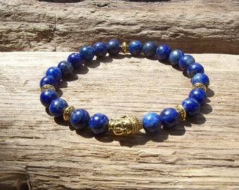 Mens bracelet - Chakra bracelet - Mala Bracelet - Man's bracelet - Mixed beads man's bracelet - Yoga bracelet - Gift for him - Buddha