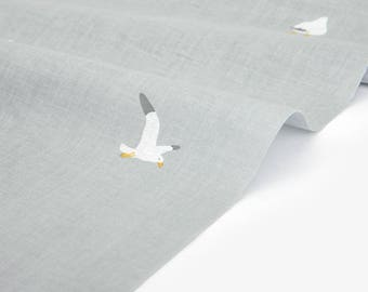 DailyLike Fabric (Cotton) - Gull : gull