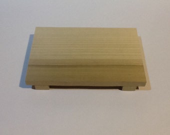 Mini Sushi Board, Footed Serving Board, Footed Plate, Footed Tray