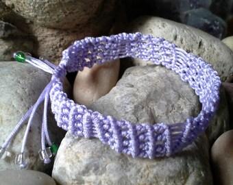 Macrame bracelet, braided bracelet, friendship bracelet B5