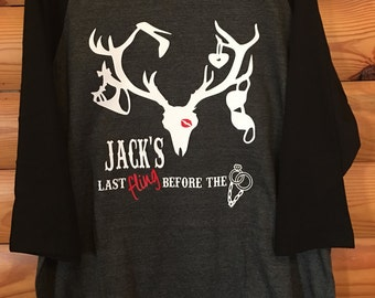 Bachelor party shirt, personalized