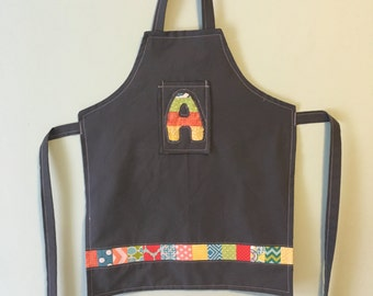 Toddler/child Personalized Letter Apron
