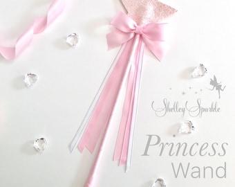 Princess wand, fairy wand, birthday wand, personalised wand, magic wand, princess wand for girls, bridesmaids wand, flower girl wand.