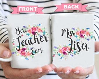 End of year teacher mug, Worlds Best Teacher, Back to school, Teacher Mug, Gifts for Teacher, Teacher Coffee Mug, Worlds best Teacher Mug