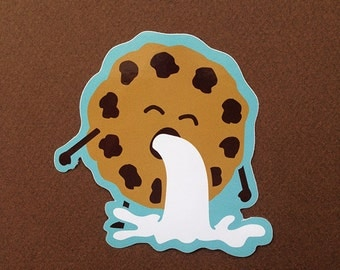 Cookie Barf Sticker