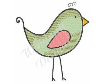 Cute Bird - Machine Embroidery Design