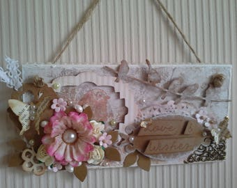 Love and Wishes Wall Hanging