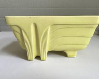 "Vintage, 1960's Art Deco, California Pottery Planter, ""CP 1267 - 7"" - Great Art Deco Piece"
