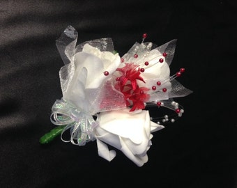 Mother of the Bride/ Mother of the Groom artificial flower corsage