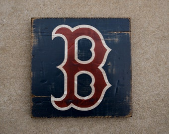 7 SIZES - Boston Red Sox - Fenway Park - Distressed Wood Sign