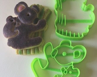 Koala Mom and Baby Cookie Cutter Set