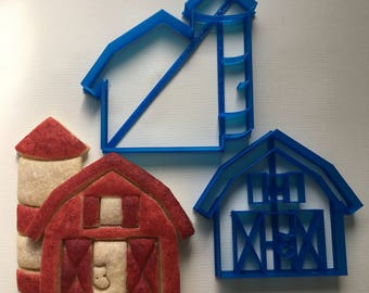 Barn Cookie Cutter Set