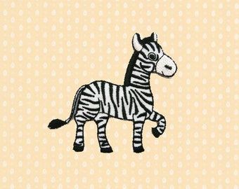 Zebra Iron On Patch Enbroidered Sew On Apllique DIY Jeans Patches